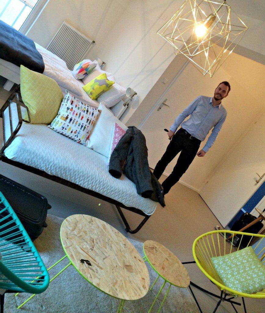 Budget Hotel Vienna: room at Magdas
