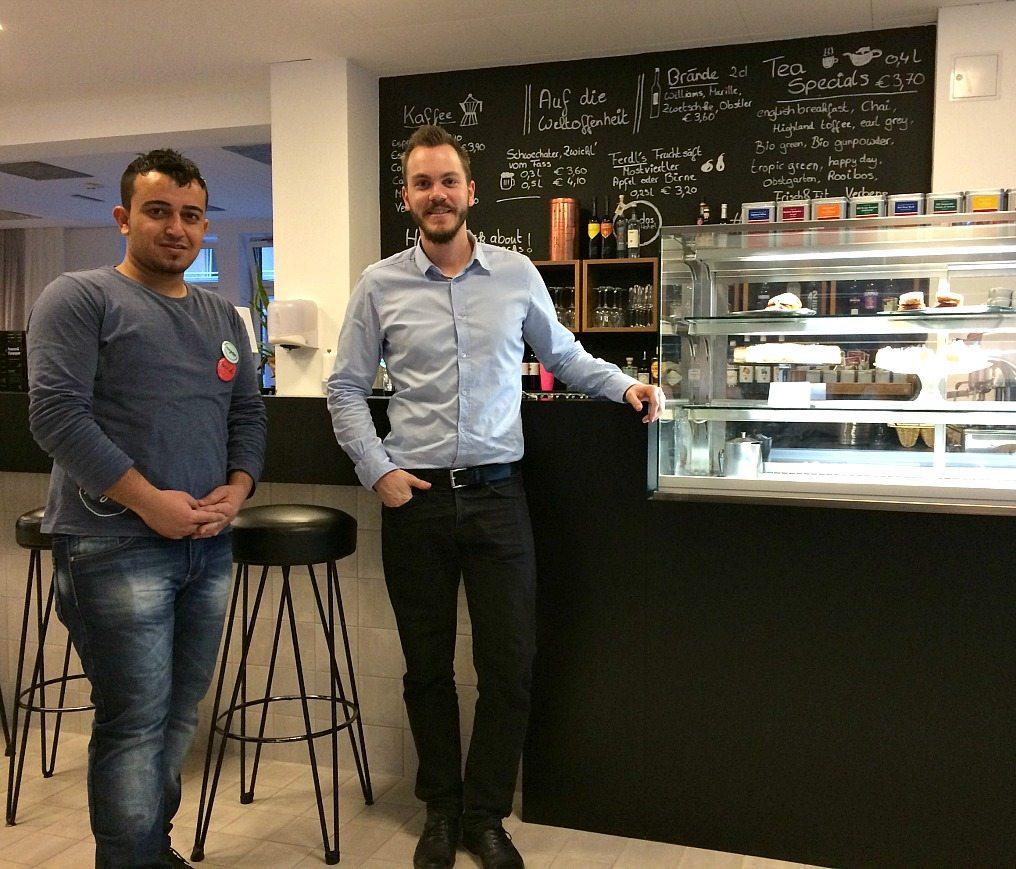 Budget Hotel Vienna: Magdas staff