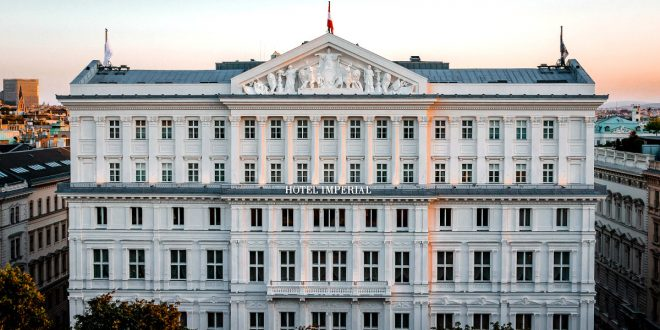 Hotel Imperial Vienna Review: exterior