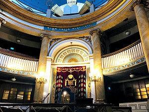 Jewish Vienna: synagogue Seitenstettengasse