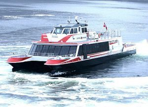 Danube high speed catamaran