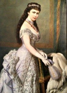 Empress Sissi painting at Hermes Villa