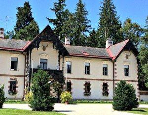 gardens of Empress Sissi's Hermes Villa