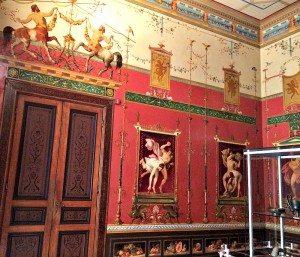 Room at Empress Sissi's Hermes Villa