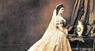 Empress Sissi in Hungarian coronation dress
