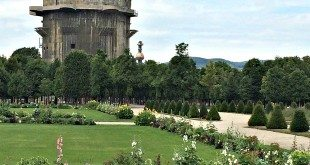 Vienna Sights: Augarten and air defence tower