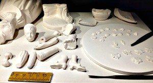 Augarten: Porzellanstücke