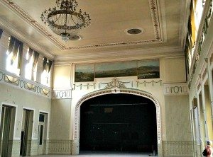 Otto Wagner Church: on site theatre