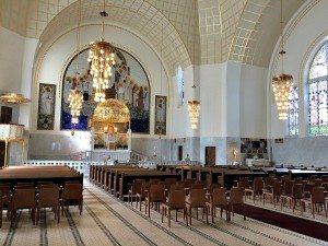 Otto Wagner Church: interior