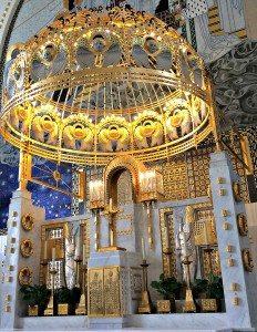 Otto Wagner Church: altar