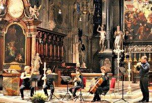Stephansdom: Mozart concert