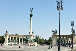 Wien Budapest Tagesausflug: Heldenplatz