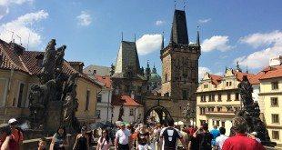 Vienna Prague Day Trip: Mala Strana from Charles Bridge