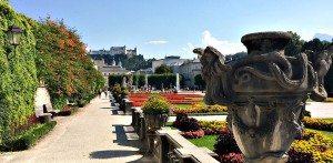 Day trips from Vienna: Salzburg's Mirabell Gardens