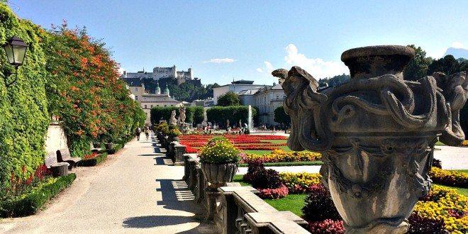 Vienna Salzburg Day Trip: Mirabell Gardens
