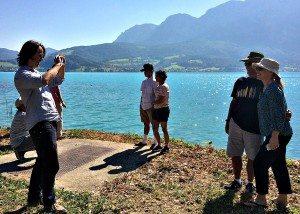 Vienna Salzburg Day Trip: Attersee photo shooting