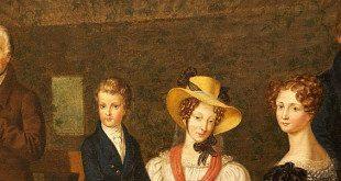Wienerisch: Viennese family, 19th century