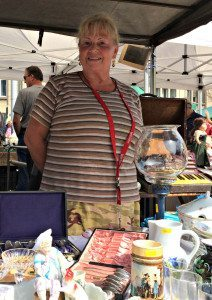 Naschmarkt flea market seller