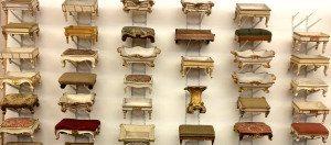 Hapbsburgs Museum of Furniture: foot stools