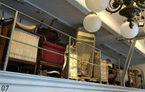 Hapsburgs Museum of Furniture: walk-in depot