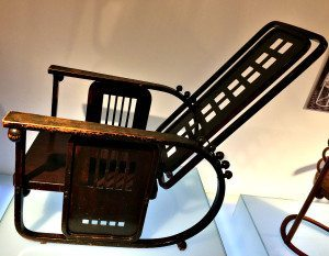 Hapsburgs Museum of Furniture: Josef Hoffmann rocking chair