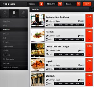 Vienna restaurants booking review: Delinski, main page
