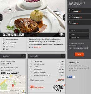Vienna restaurants booking review: Delinski's discount