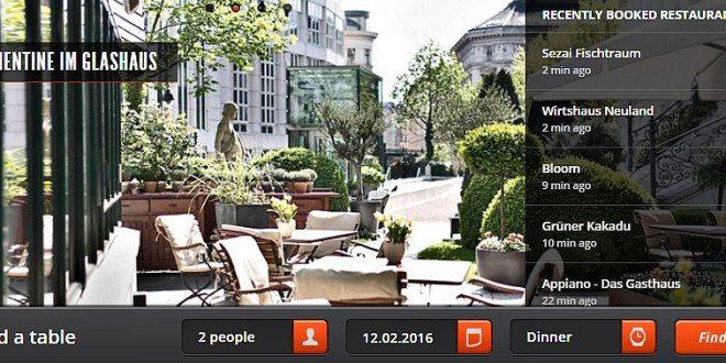 Vienna restaurants booking tool: Delinski