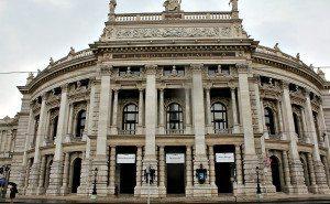 Vienna sightseeing: Burgtheater