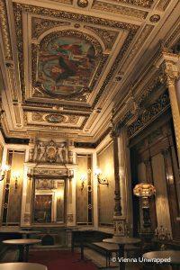 Vienna opera tour: Emperor's tea salon