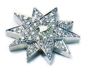 Austrian Jewelry Empress Sissi Star By Koechert