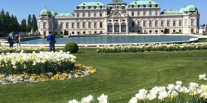 Vienna sightseeing: Belvedere Palace
