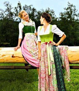 Dirndl Dresses: Goessl, Austria