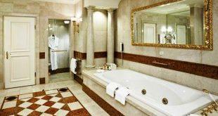 Grand Hotel Wien: luxury bathroom