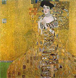 Gustav Klimt Artwork: Adele Bloch Bauer