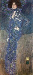 Gustav Klimt Artwork: Emilie Floege
