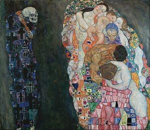 Gustav Klimt Artwork: Death and Life