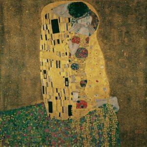 Gustav Klimt Artwork: The Kiss