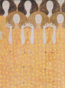 Gustav Klimt Artwork: Angel's Choir