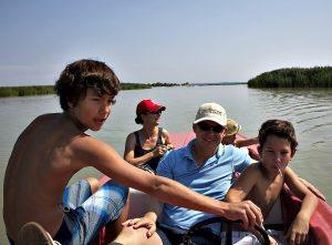 Lake Neusiedl: electric boat