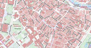Karte von Wien: Stadtplan