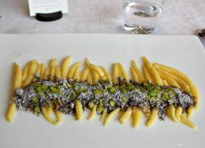 Michelin Restaurant Steirereck: poppy seed gnocchi