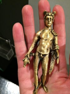 Roman Vienna: replica of Mercury statuette