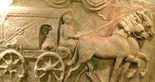 Roman Vienna: relief detail, Roemermuseum Wien