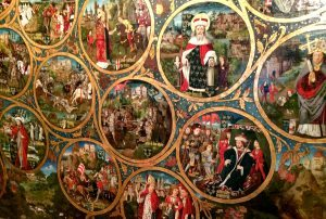 Things to do in Vienna November: Babenberg family tree at Klosterneuburg abbey