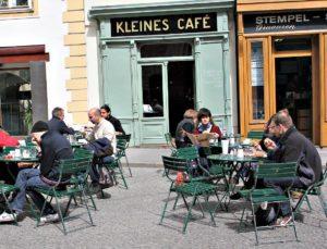 Vienna coffeehouses favourites: Kleines Cafe