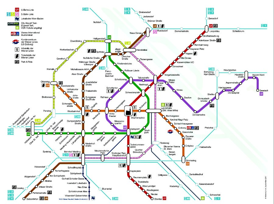 Vienna Metro System And Metro Map for Travellers | Vienna Unwrapped