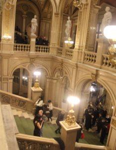 Vienna State Opera: stair case