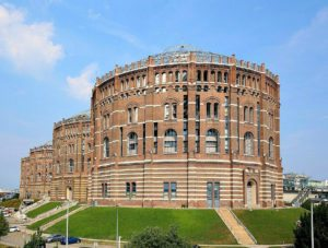 Gasometer City in Vienna