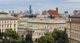 Visit Vienna: rooftop view